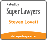 Rated by Super Lawyers: Steven Lovett
